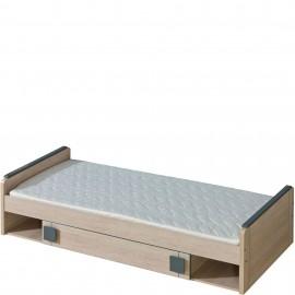 Łóżko Gumi 80 x 195 G13 (dąb santan/popiel)- Dolmar