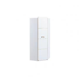 Szafa narożna Lorento L14 (biały brylantowy)- Dolmar