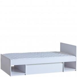 Łóżko Arca 90 x 200 AR9 (biel arktyczna/biel arktyczna) - Dolmar