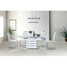 Stół Fano (120) biały lakier- Signal
