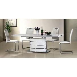 Stół Fano (160) biały lakier- Signal