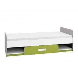 Łóżko IQ 12 (zielony)- Ml Meble