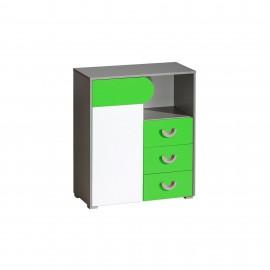 Komoda Futuro F6 (zielony)- Dolmar