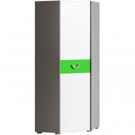 Szafa narożna Futuro F7 (zielony)- Dolmar