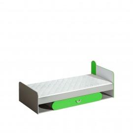Łóżko Futuro 80 x 195 F13 (zielony)- Dolmar