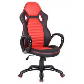 Fotel obrotowy CX-0936H (czerwony)- Furnitex