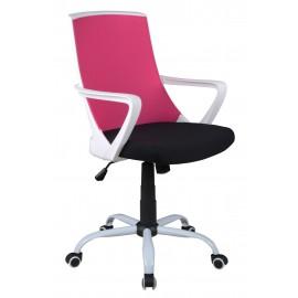 Fotel Obrotowy CX-0722M (róż)- Furnitex