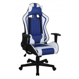 Fotel Obrotowy CX-1063M (niebieski)- Furnitex