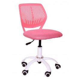 Fotel Obrotowy H-5 (różowy)- Furnitex