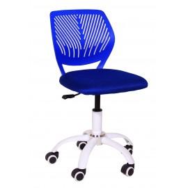 Fotel Obrotowy H-5 (niebieski)- Furnitex