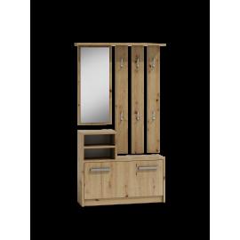 Garderoba 1 (dąb artisan)- Furnitex
