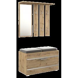 Garderoba 2 (dąb artisan)- Furnitex