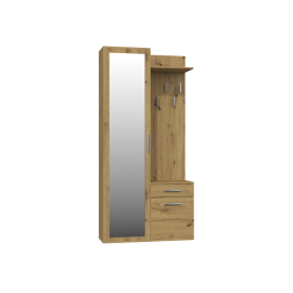 Garderoba 4 (dąb artisan)- Furnitex