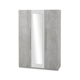 Szafa 3D VERA TYP-19 (beton Colorado-biały)- Helvetia