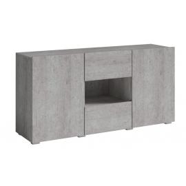 Komoda DELOS TYP-26 (beton colorado)- helvetia