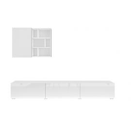 Meblościanka mała Aksel TYP-09 (biała)- Helvetia
