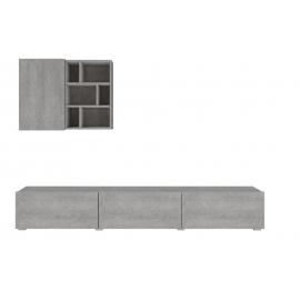 Meblościanka mała Aksel TYP-09 (colorado-beton)- Helvetia