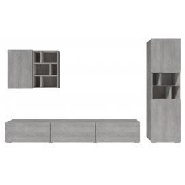 Meblościanka duża Aksel TYP-10 (beton colorado)- Helvetia