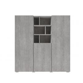 Komoda Aksel TYP-46 (beton colorado)- helvetia