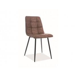 Krzesło Look (brązowy / czarny)- Signal
