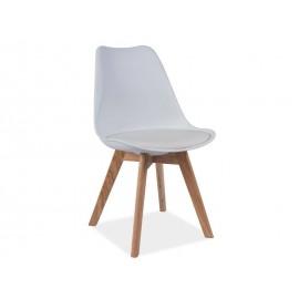 Krzesło Kris dąb (biały)- Signal