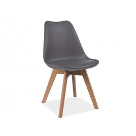Krzesło Kris buk (szary)- Signal