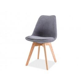 Krzesło Dior buk (szary) - Signal