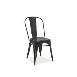 Krzesło Loft (czarny mat)- SIgnal