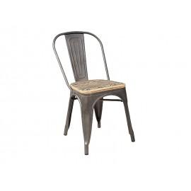 Krzesło Loft drewno (orzech) - Signal