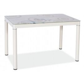Stół Damar (80) biały- Signal