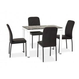 Stół Damar (100) czarno-biały- Signal