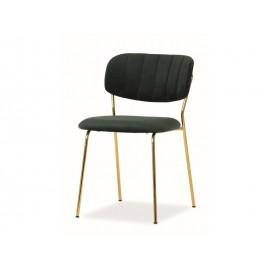 Krzesło Carlo Velvet (zielony)- Signal