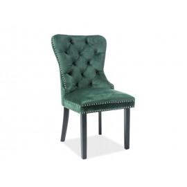 Krzesło August Velvet (zielony)- Signal