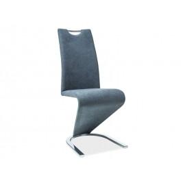 Krzesło H-090 chrom (grafit)- Signal