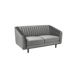 Sofa Asprey 2 Velvet (szary)- Signal