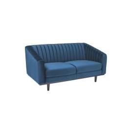 Sofa Asprey 2 Velvet (granatowy)- Signal