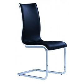 Krzesło H-133 (czarny / biały)- Signal