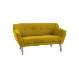 Sofa Bergen 2 (żółty)- Signal