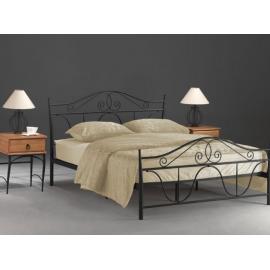 Łóżko Denver (czarny)- Signal