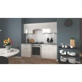 Zestaw kuchenny Marija 200 (biały/dąb sonoma)- Halmar