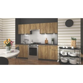 Zestaw kuchenny Daria 240 (antracyt)- Halmar