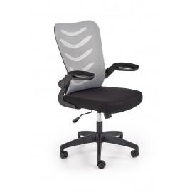Fotel Obrotowy Lovren (czarno-popielaty)- Halmar