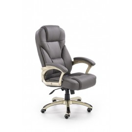 Fotel Obrotowy Desmond (ciemny brąz)- Halmar