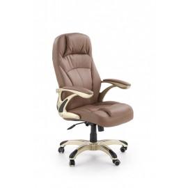 Fotel Obrotowy Carlos (jasny brąz)- Halmar
