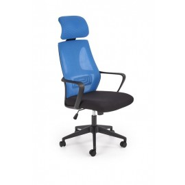 Fotel Obrotowy Valdez (niebieski)- Halmar