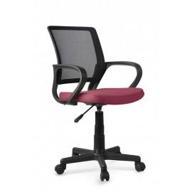 Fotel Obrotowy Joel (ciemny różowy)- Halmar