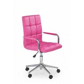 Fotel Obrotowy Gonzo 2 (różowy)- Halmar