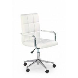 Fotel Obrotowy Gonzo 2 (biały)- Halmar