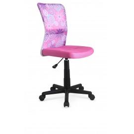 Fotel Obrotowy Dingo (różowy)- Halmar
