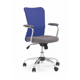 Fotel Obrotowy Andy (niebieski)- Halmar
